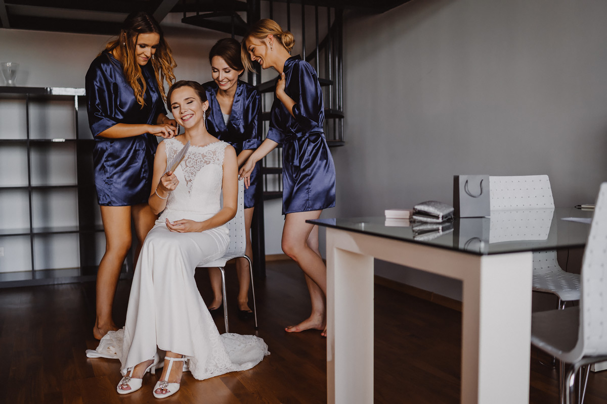 glamour wedding in lodz at lofty scheiblera