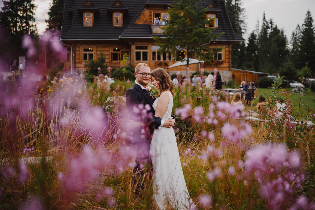 Folk wedding in Polish mountains